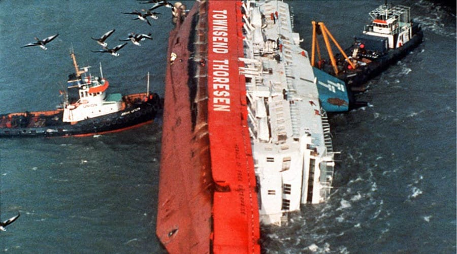 "ISM Code was created after the capsizing of the ferry ""Herald of Free Enterprise"""