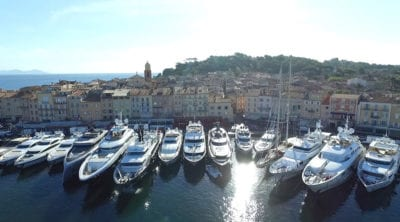 Dockage in St Tropez