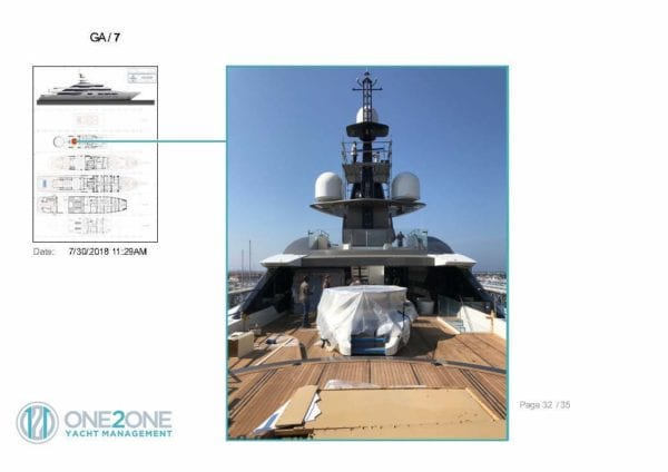 Technical Yacht Report